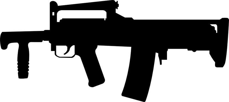 Groza Rifle Gun cut file, SVG , Cricut, Silhouette