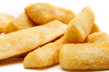 Super crispy fried cassava.