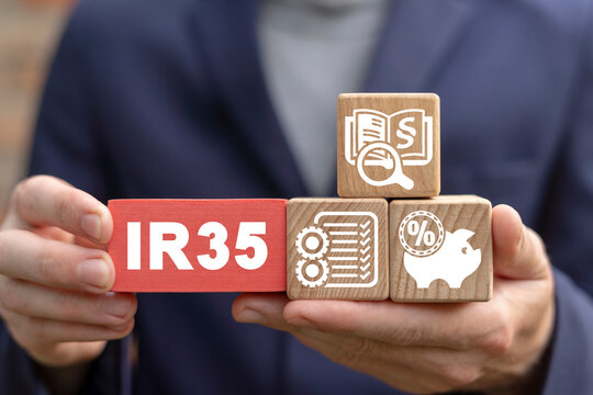 Concept of ir35 law taxes.