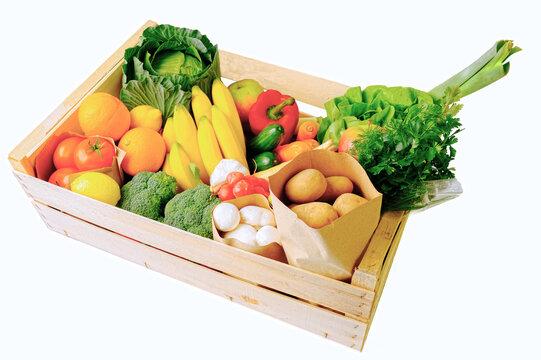 Owoce i warzywa pełne witamin