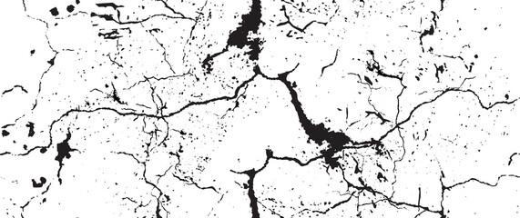 Obraz Distressed Grunge Texture. Seamless Pattern. - fototapety do salonu