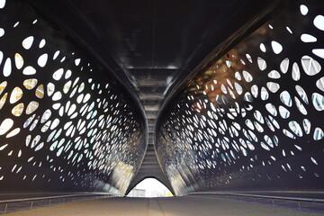 Antwerp park bridge Antwerpen park brug