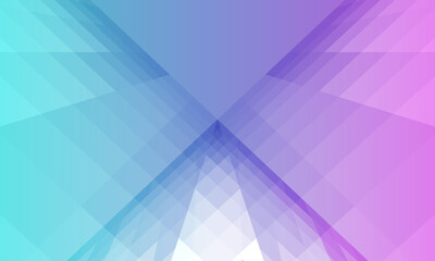 Abstract geometry strip surfaces, Abstract symmetrical modern blue and purple background vector design