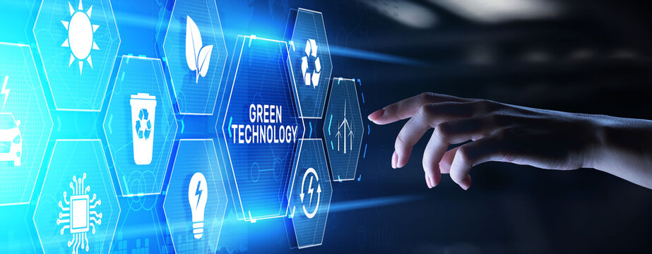 Green technology renewable energy eco friendly ecology saving zero waste