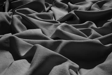 Cienie udrapowanej płachty materiału