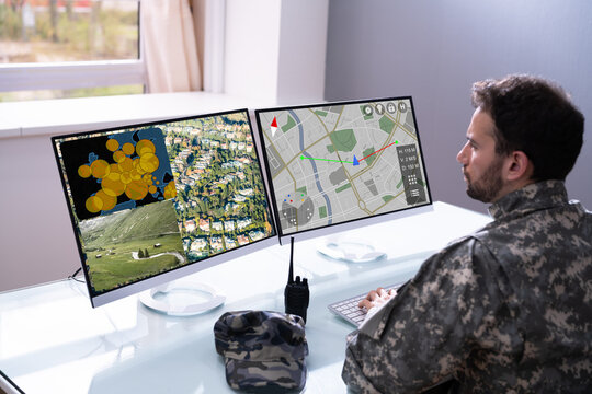Military Data Center Using Computer Software