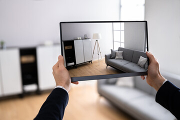 Virtual Guided Real Estate House Tour - fototapety na wymiar