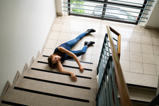 Slip And Fall Accident On Stairs