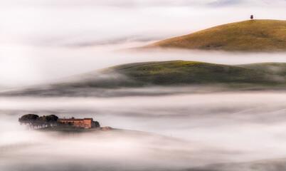 Italy, Tuscany, morning, scenic - 435097131
