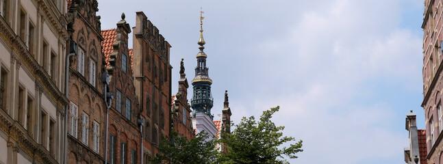 stare kamienice w Gdańsku