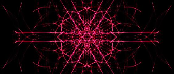 Obraz Flor-Neon - fototapety do salonu