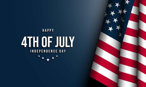 United States Independence Day Background. Fourth of July.