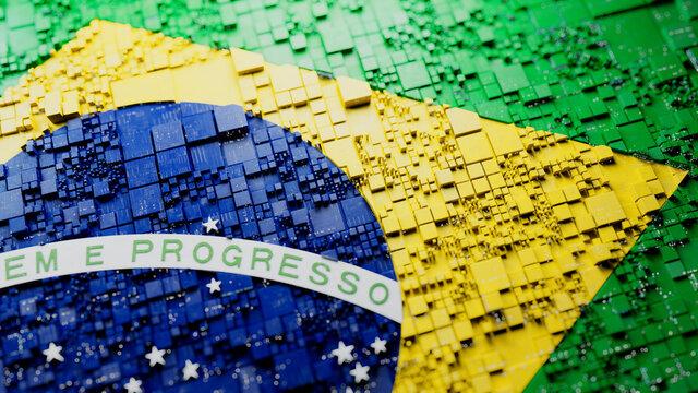 Brazilian Flag Wallpaper