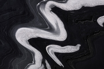 Natural Exotic Black -marble background, texture in elegant classic colors for your new design.