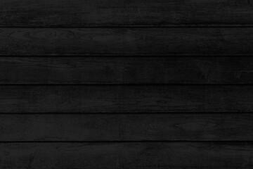 Obraz Old Black vintage wooden wall pattern and seamless background - fototapety do salonu