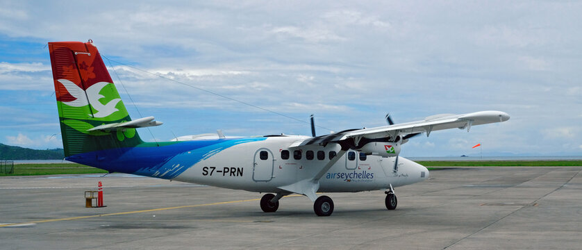 De Havilland Canada DHC-6 Twin Otter, Air Seychelles at Mahe Airport, Seychelles