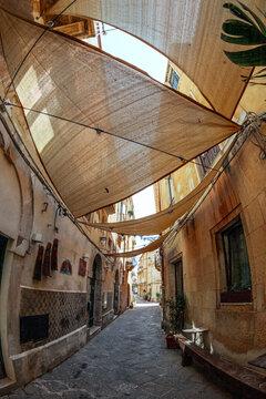 Vicoli di Ortigia - Siracusa - Vele