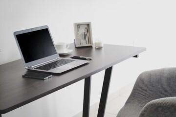 Obraz #work #computer #business - fototapety do salonu