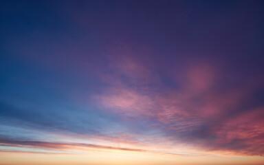 photo sky sunset time, background photo natural phenomenon