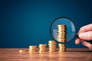 Obraz Money makes money investment concept - fototapety do salonu