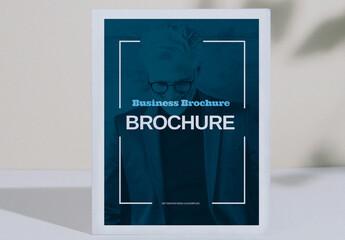 Fototapeta Modern Business Brochure Layout obraz