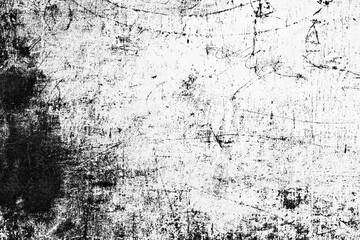 Fototapeta Texture of a concrete wall with cracks and scratches which can be used as a background obraz