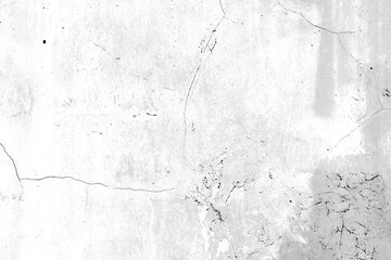 Obraz Texture of a concrete wall with cracks and scratches which can be used as a background - fototapety do salonu