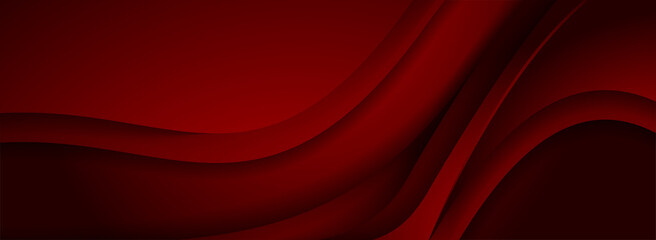 Obraz Modern 3d Dynamic Red Background with Overlap Layered Textured Style Concept. - fototapety do salonu