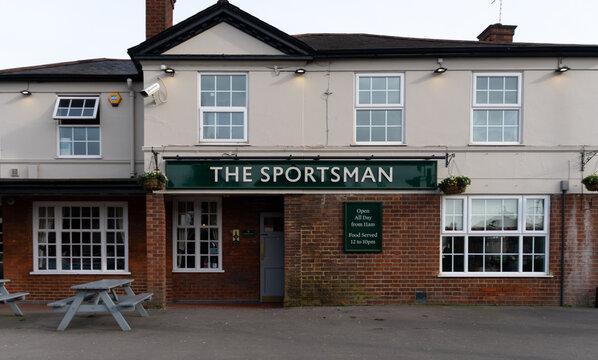 Sportsman Pub Entrance