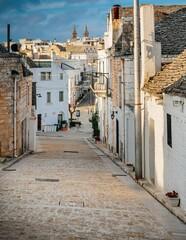 Fototapeta Arbelobello - piękne miasteczko we Włoszech obraz