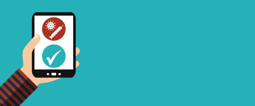 Digitaler Nachweis auf dem Smartphone: Coronaimpfung, Impfpass, Impfzertifikat oder Impfausweis