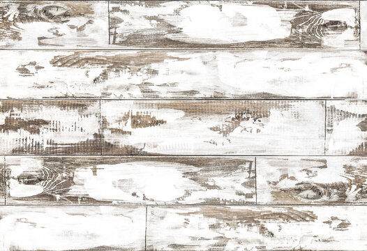 Rustic wooden background Wood texture white colored plank