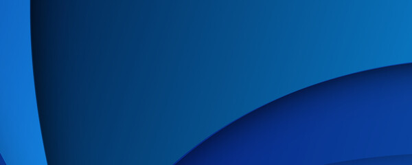 Abstract blue background with wave curve shapes