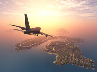 Fototapeta Airplane obraz