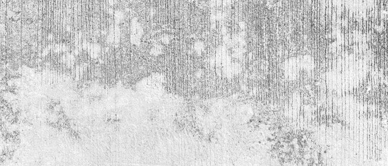 Fototapeta Panorama of White grey concrete texture, Rough cement stone wall, Surface of old and dirty outdoor building wall, Abstract nature seamless background obraz