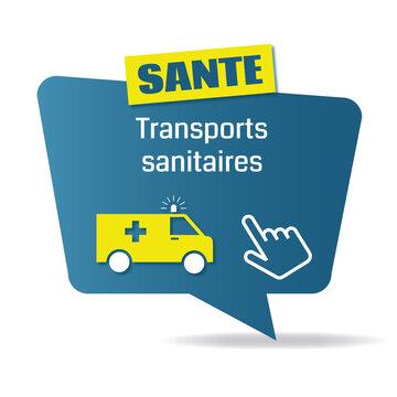 Logo transports sanitaires.