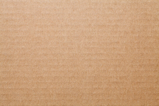 Brown corrugated paper texture background
