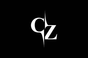 Fototapeta CZ Logo Monogram obraz