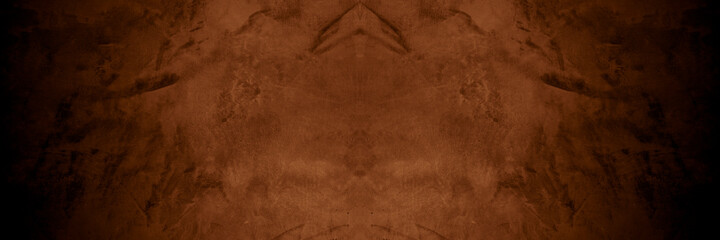 Old wall texture cement dark brown gray  background abstract grey color design are light with white...