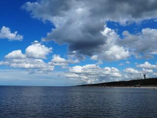 Mrzeżyno, plaża, morze