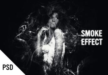 Fototapeta Image to Smoke Effect obraz