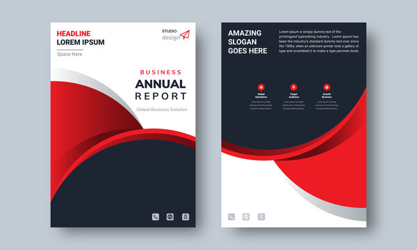 Annual Report design Layout Multipurpose use for any Project, annual report, Brochure, flyer, Poster, Booklet etc.