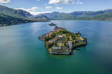 panorama lago maggiore, isola bella, isole borromee