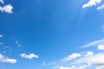 Niebo latem - fototapety na wymiar