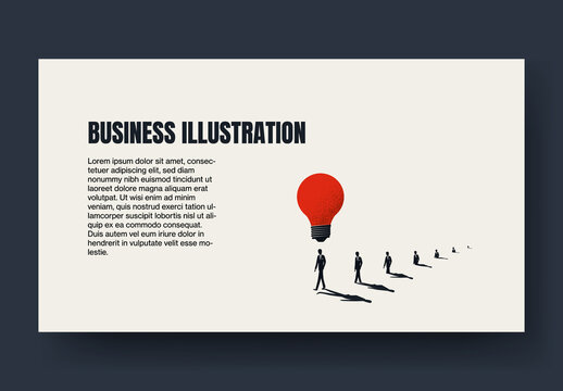 Business Creative Leader Blog Post Layout