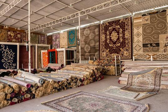 Teppich-Shop in Masafi