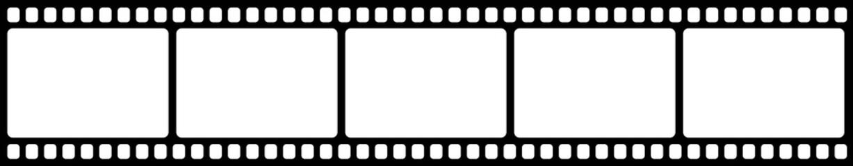 Obraz Vector blank cinema film strip. - fototapety do salonu
