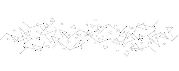 sfondo, triangoli, comunicazione, informatica