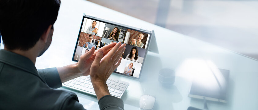 Virtual Video Conference Meeting