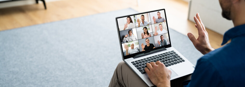 Online Learning Conference Video Webinar Call